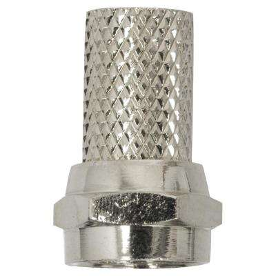 RG6 Twist-On Connector (2-Pack)