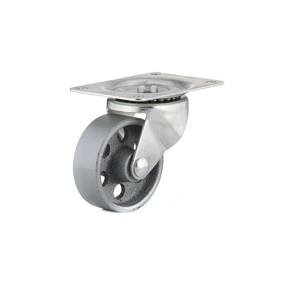 3 in. Metal Swivel Without Brake plate Caster, 209.5 lb. Load