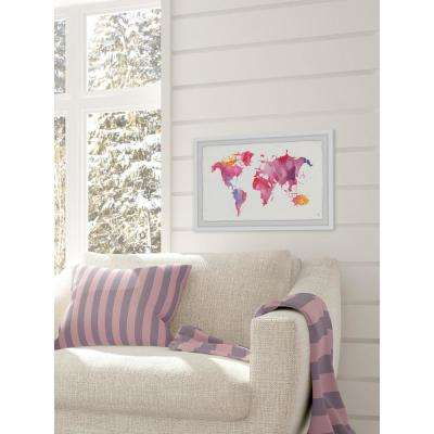 "24 in. H x 36 in. W Ethereal World"" by Marmont Hill Framed Wall Art"