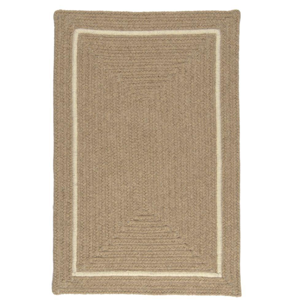 Home Decorators Collection Natural Beige 3 ft. x 5 ft. Rectangle Braided Area Rug