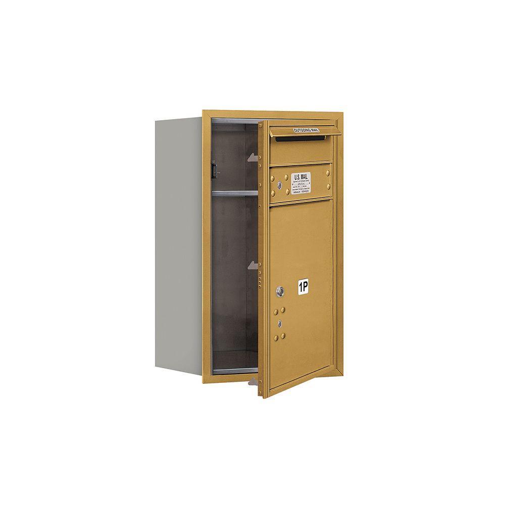 3700 Series 27 in. 7 Door High Unit Parcel Locker 1