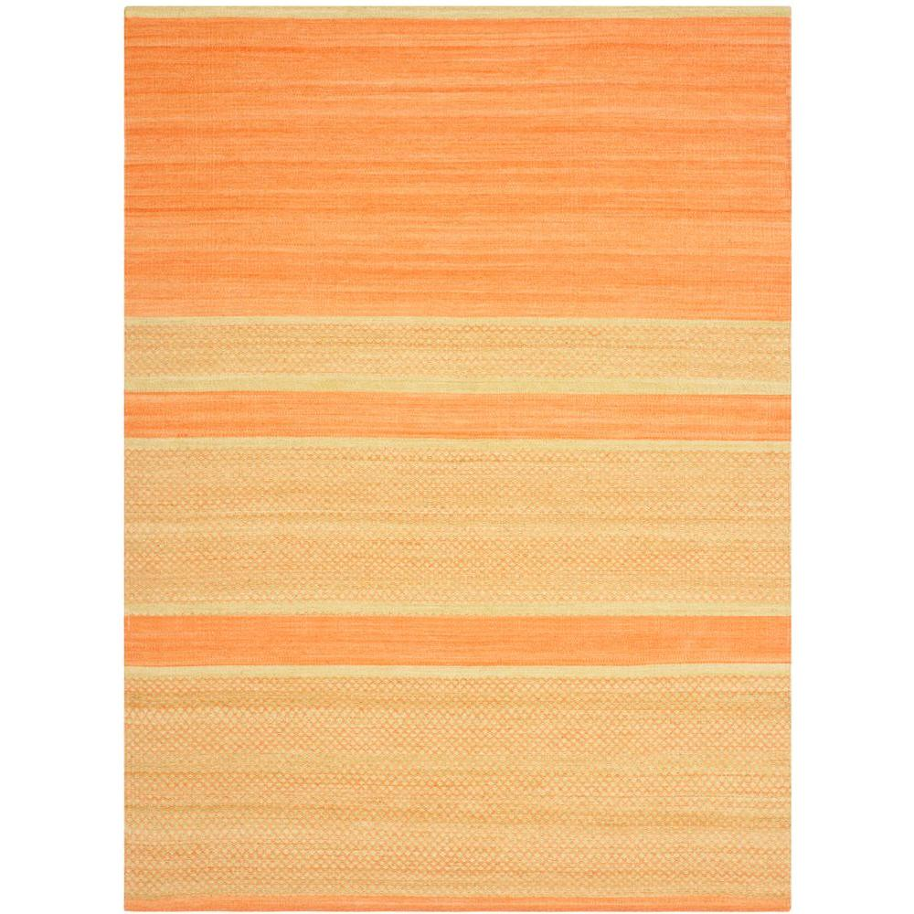 Safavieh Kilim Orange/Lime 5 ft. x 8 ft. Area Rug