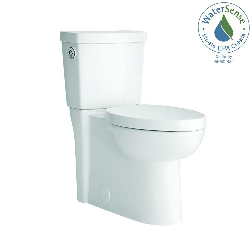 Studio Activate 2-Piece 1.28 GPF Single Flush Right Height Elongated Toilet