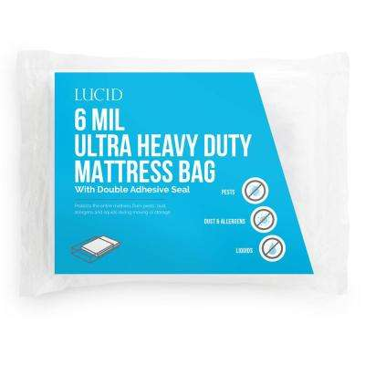 Twin XL Ultra Heavy Duty 6 Mil Mattress Bag