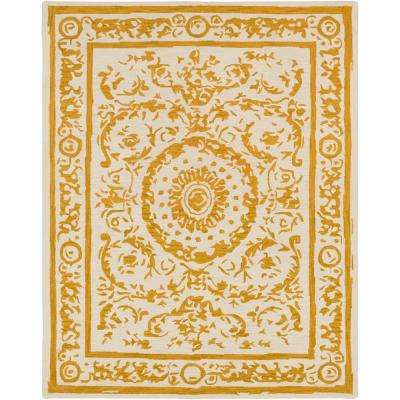 Sabeen Mustard 8 ft. x 10 ft. Area Rug
