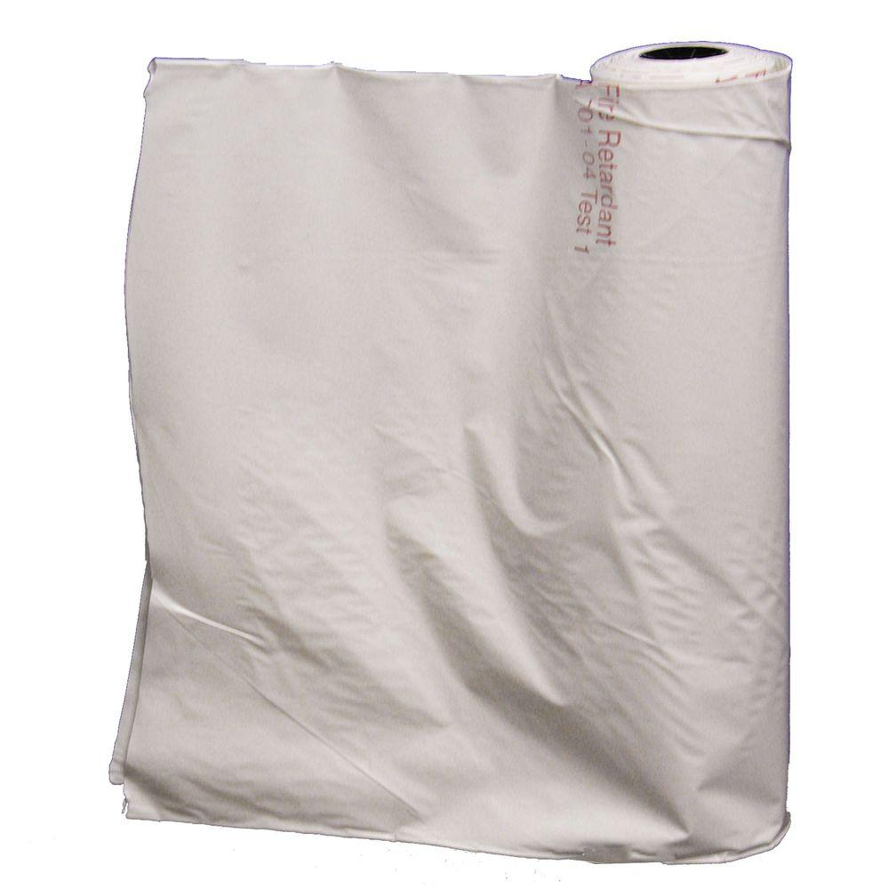 Americover 12 ft. x 100 ft. 6-mil Anti-Static Fire Retardant Construction Poly
