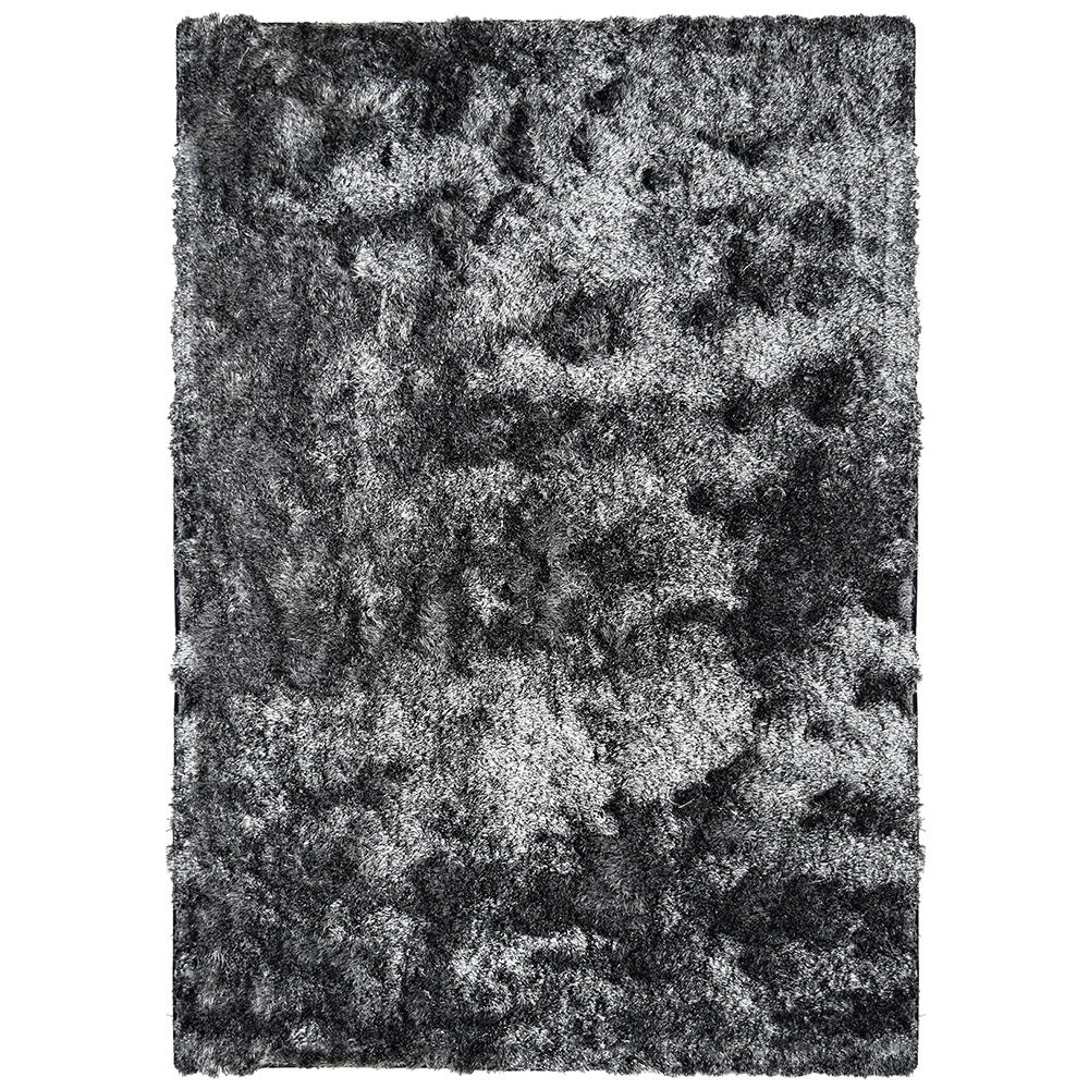 Home Decorators Collection So Silky Salt and Pepper 6 ft. x 10 ft. Area Rug