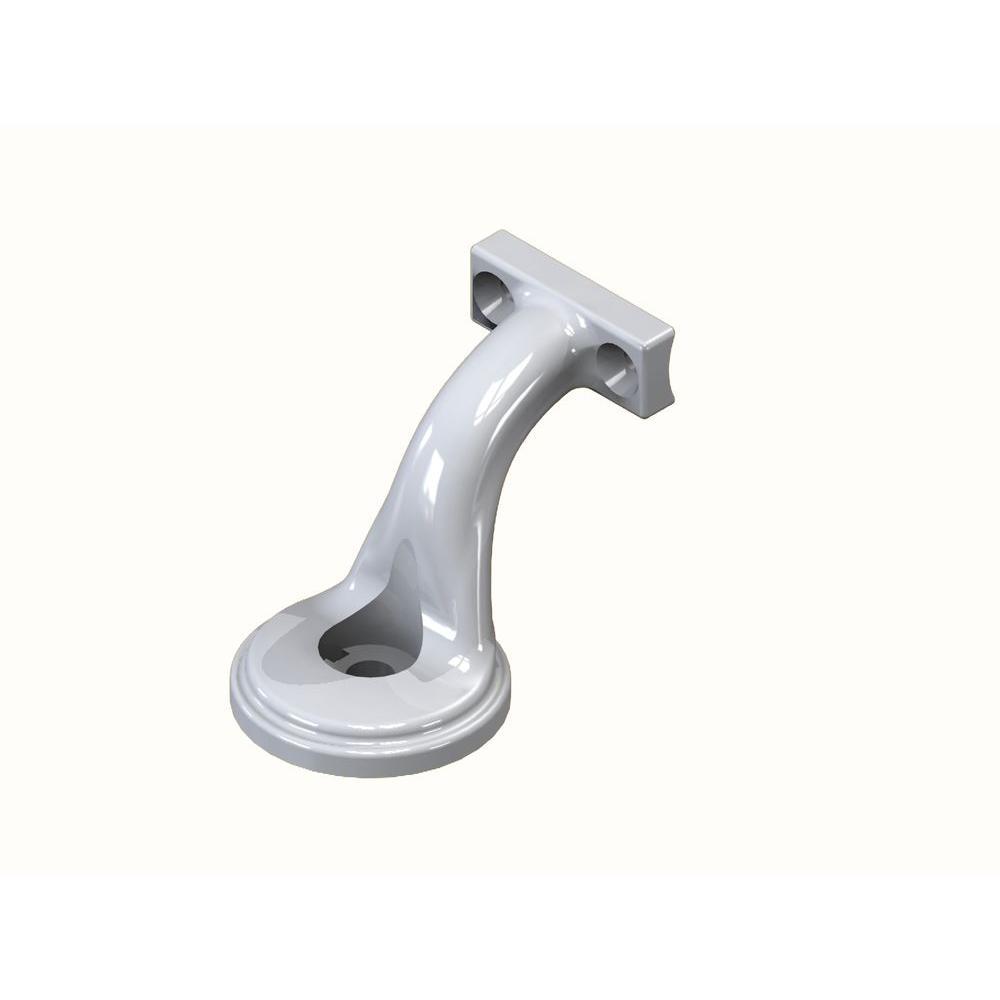 RDI White Handrail Bracket-73018384 - The Home Depot