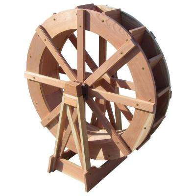 30 in. dia. Water Wheel with Stand
