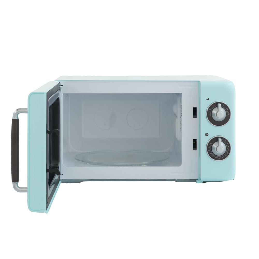 Retro 0 7 Cu Ft Countertop Microwave