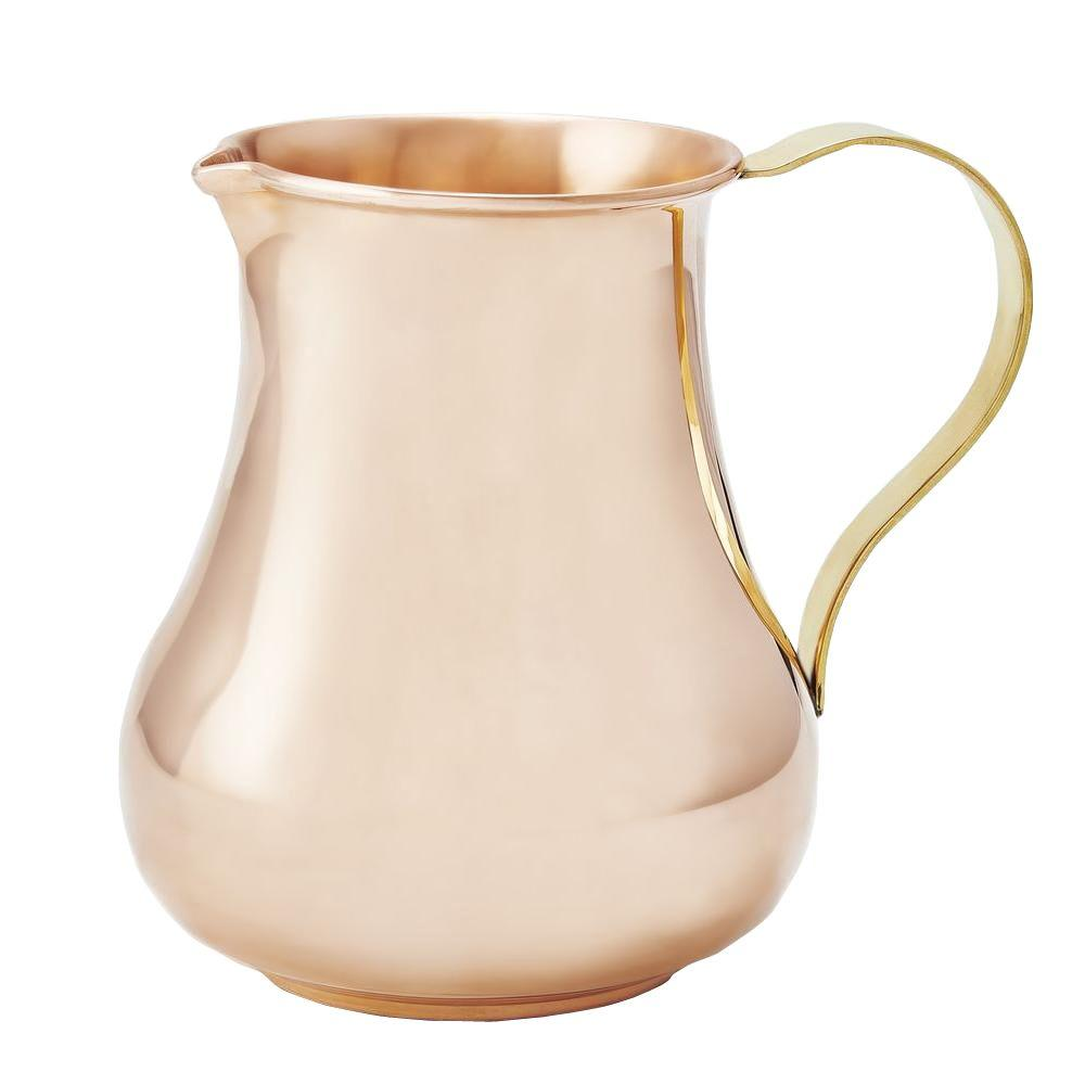 Old Dutch 24 oz. Solid Copper Pitcher