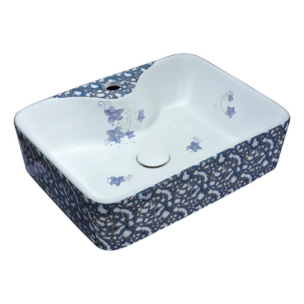 Cotta Series Ceramic Vessel Sink in Lavender