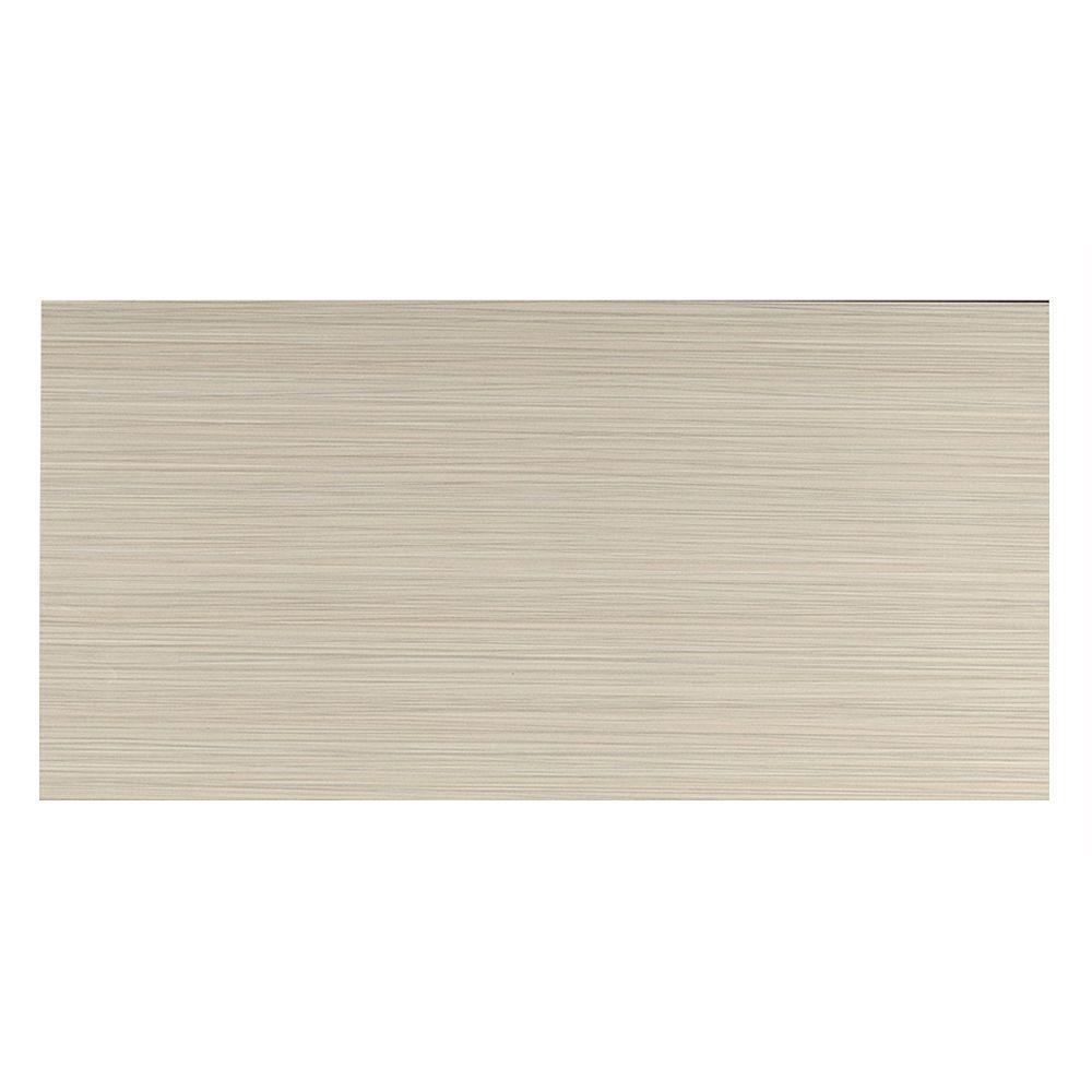 Italia Zen Gris 12 in. x 24 in. Porcelain Floor and