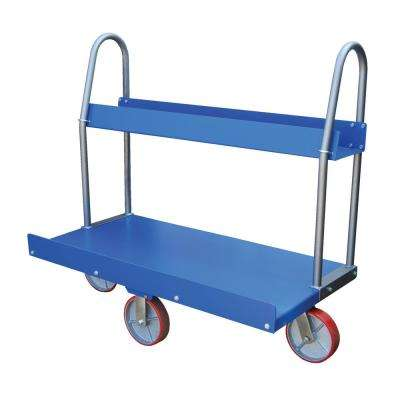 1,500 lb. 30 in. x 60 in. Panel Cart with Tray