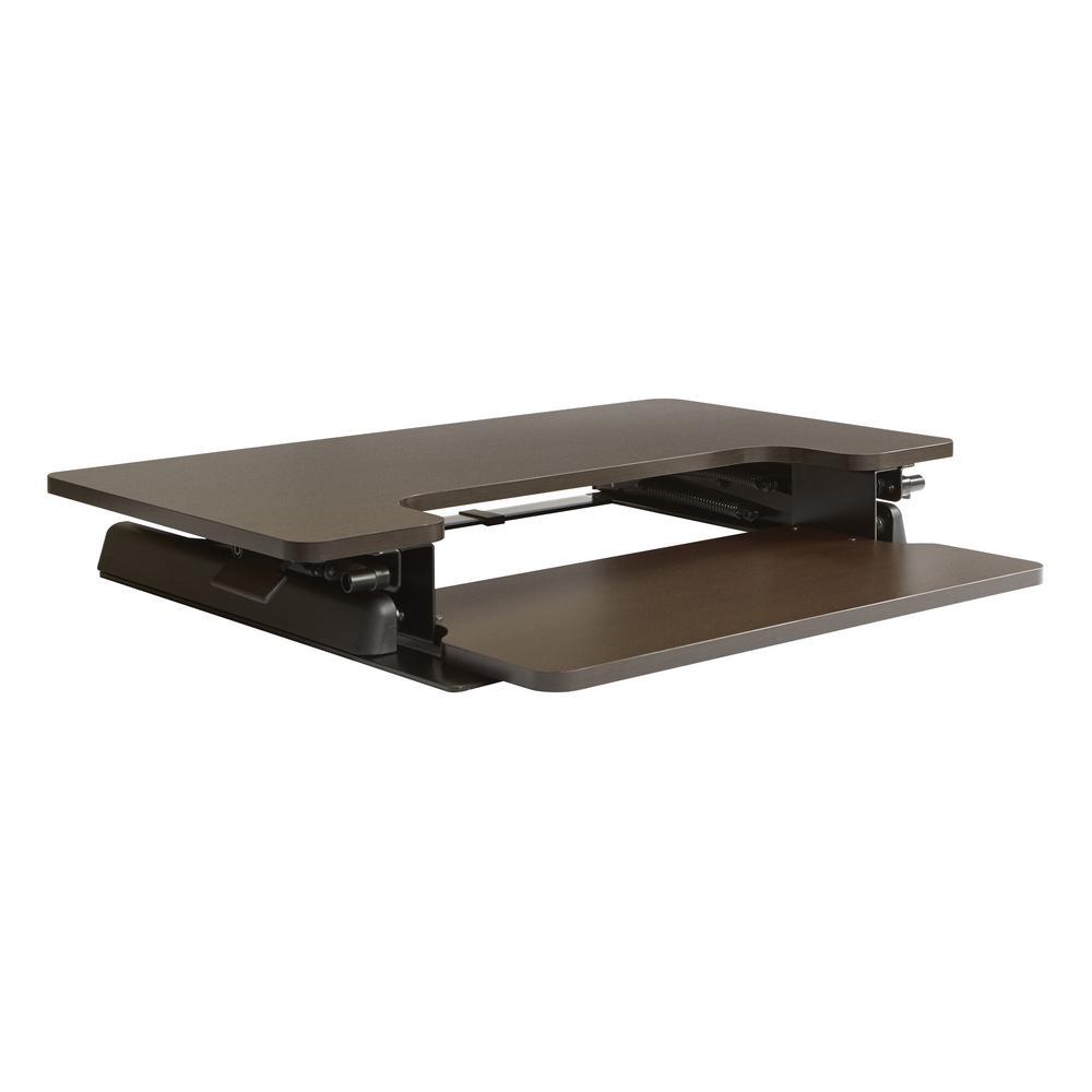 osp furniture napa desk riser in espresso nap3529esp the home depot. Black Bedroom Furniture Sets. Home Design Ideas