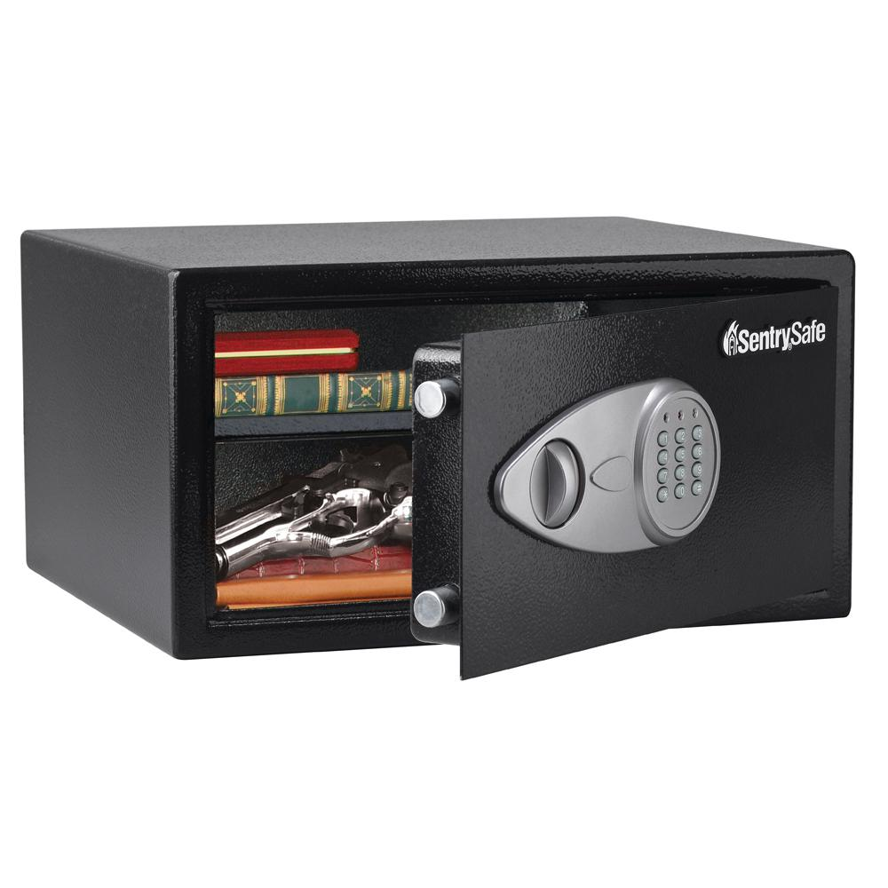 Security Safe Electronic Sentrysafe Fireproof File Jewelry Valuables Storage NEW