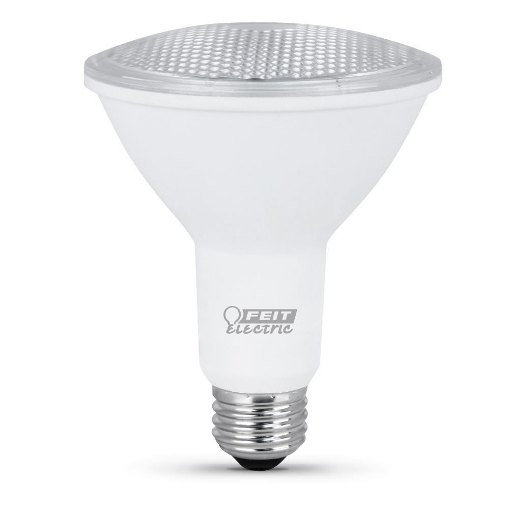 75 Watt Equivalent (3000K) PAR30 LED Flood Light Bulb, Warm White (