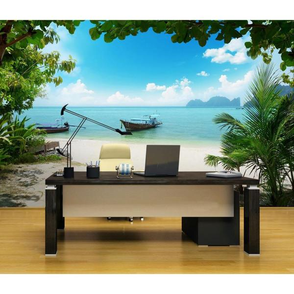 Ideal Decor 144 in. W x 100 in. H Phi Phi
