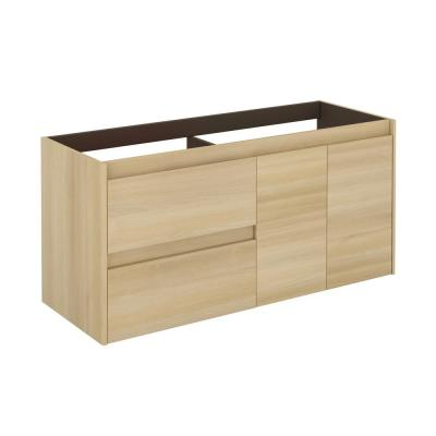 Ambra 47.5 in. W x 17.6 in. D x 21.8 in. H Bath Vanity Cabinet Only in Nordic Oak