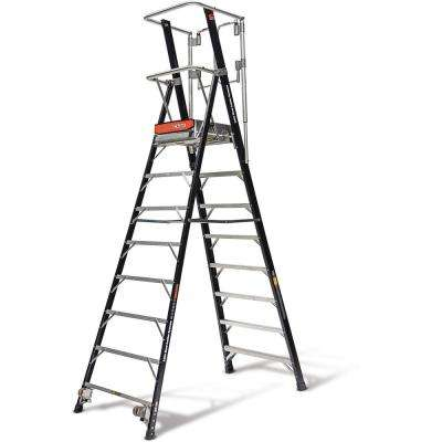 8 ft. Fiberglass 375 lbs. Rated Type IAA Safety Cage