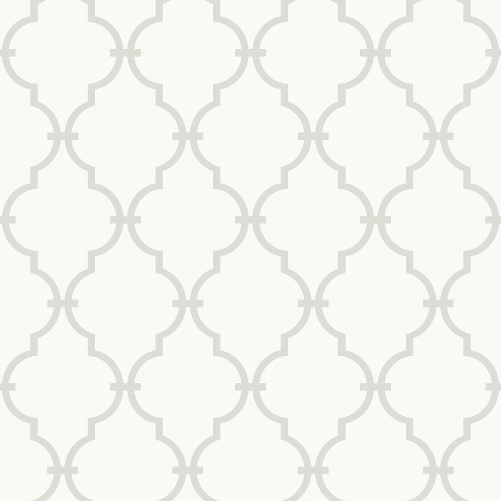 56 sq. ft. Peek-A-Boo Trellis Wallpaper by