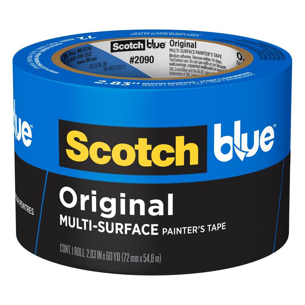 3M ScotchBlue 2.83 in. x 60 yds. Original Multi-Surface Painter's Tape
