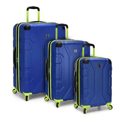Sky High 3-Piece Navy Hardside Spinner Set