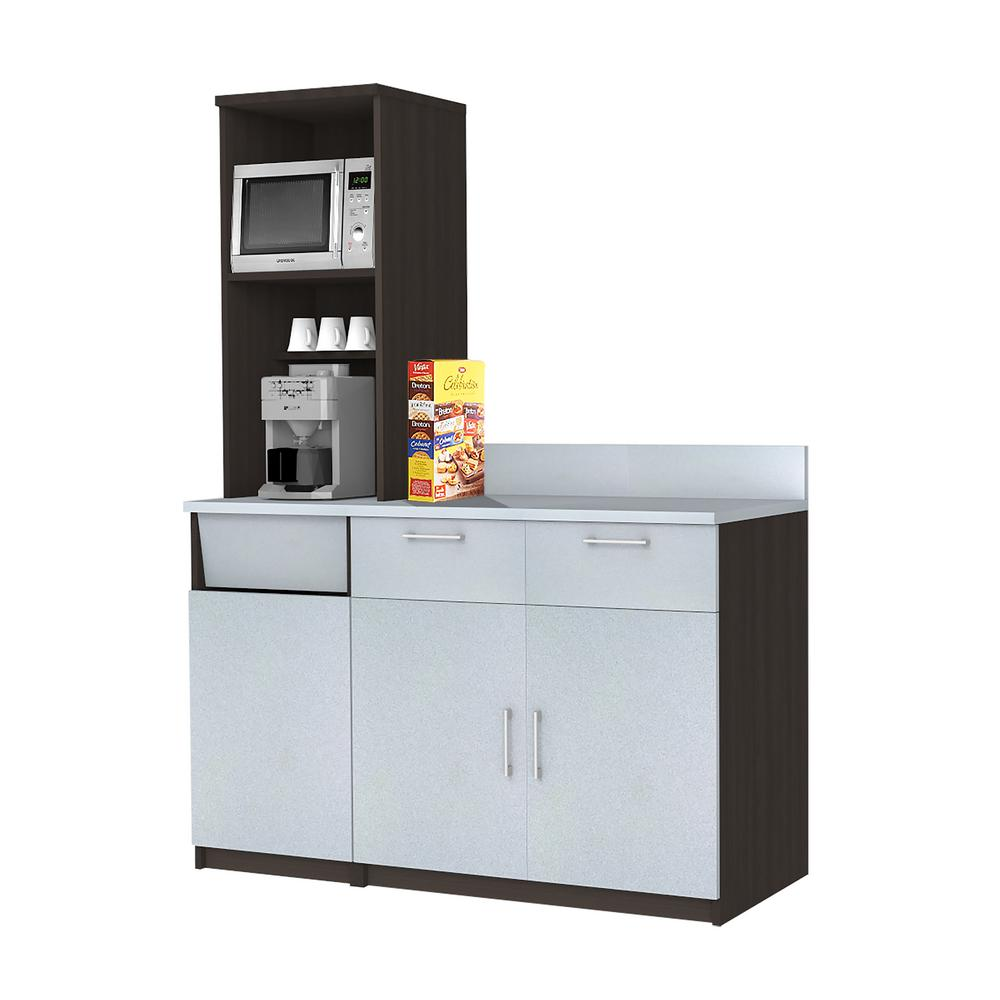Coffee Kitchen Espresso Sideboard with Lunch Break Room ...