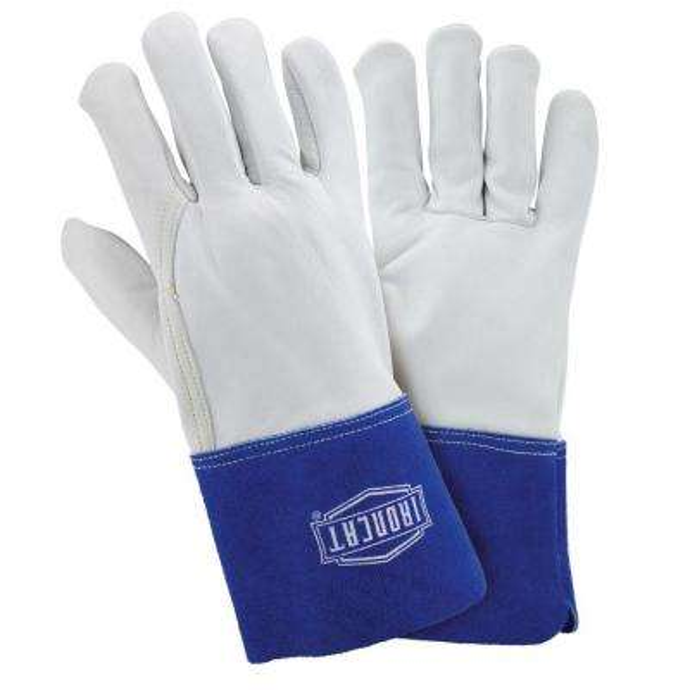 Premium Grain Goatskin TIG Welding Gloves