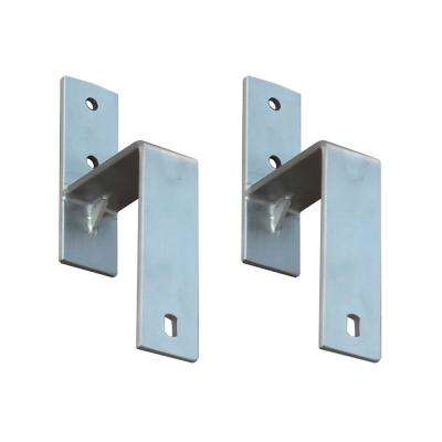 Stainless Steel Bypass Bracket Set for Sliding Barn Door Hardware