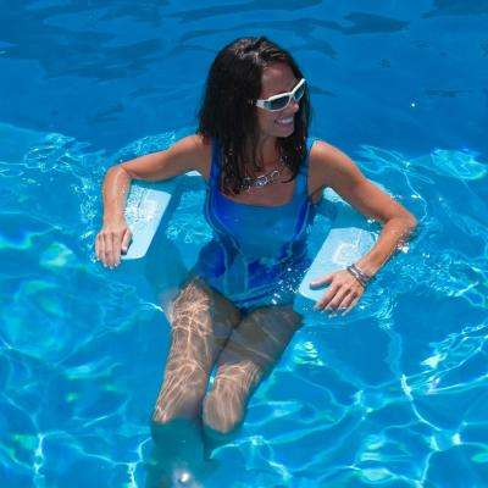 Suncliner Foam Aquamarine Pool Hammock