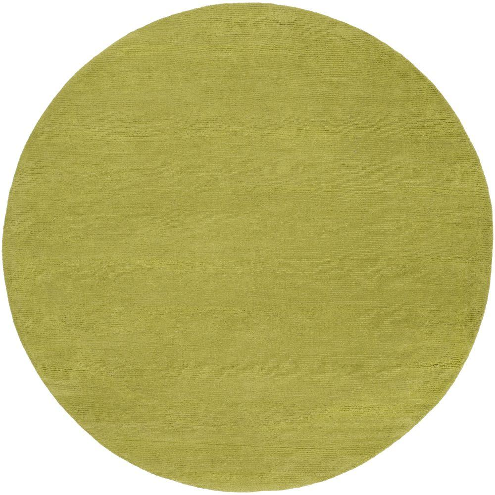 Artistic Weavers Falmouth Lime 6 Ft X 6 Ft Round Indoor