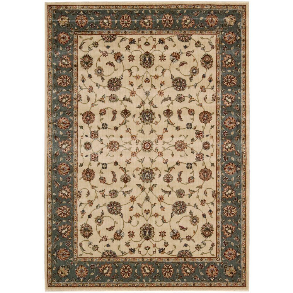 Nourison Persian Arts Ivory 7 ft. 9 in. x 10 ft. 10 in. Area Rug
