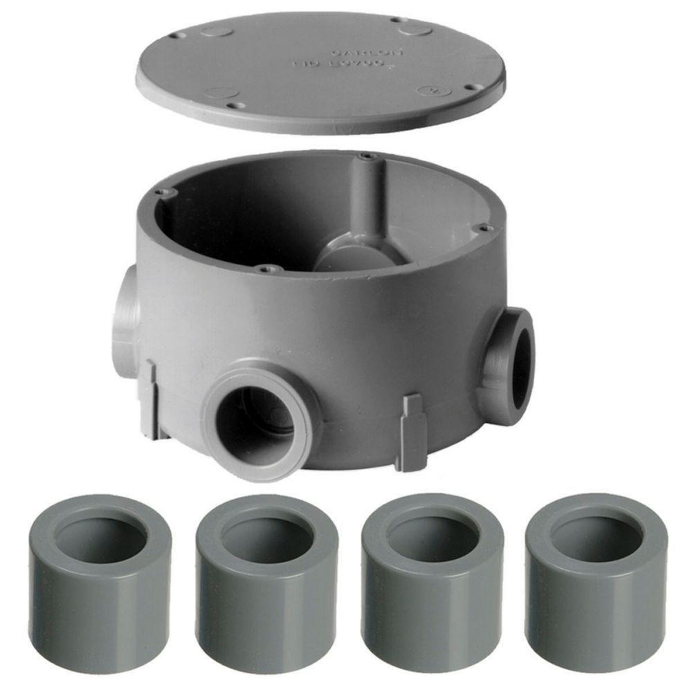 Rigid conduit fittings electrical boxes