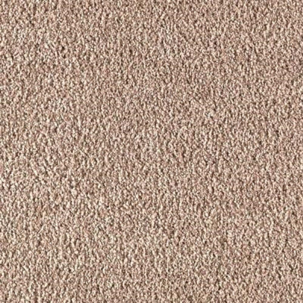Carpet Sample - Metro I - Color Adobe Wash Texture 8 in. x 8 in.