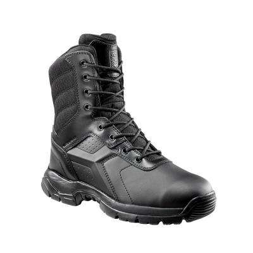 Men's 012MW Black Polishable Waterproof Composite Toe 8 in. Tactical Boot