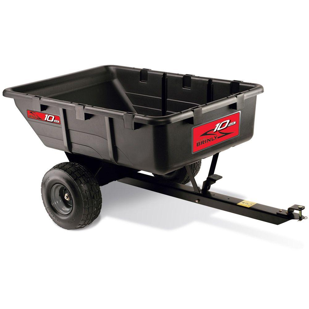 10 cu. ft. 650 lb. Tow-Behind Utility Cart
