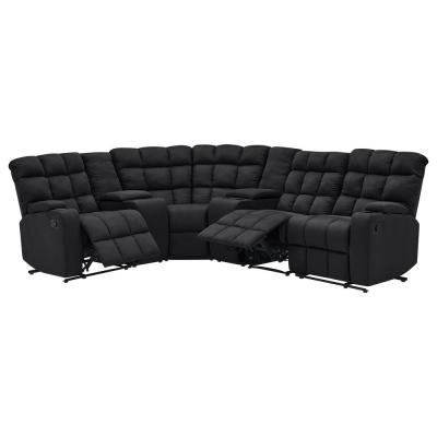 Black - Sectionals - Living Room Furniture - The Home Depot