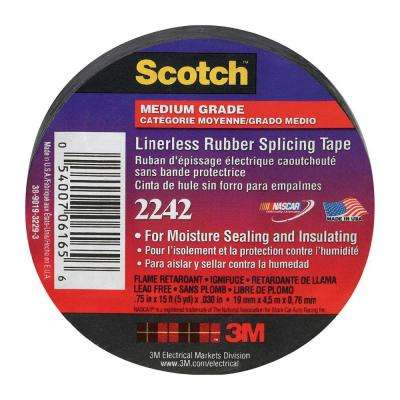 Scotch 3/4 in. x 15 ft. 2242 Electrical Splicing Tape (Case of 10)