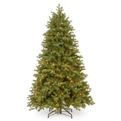 7-1/2 ft. Feel Real Bosworth Spruce Hinged Tree with 750 Dual Color LED Lightsand PowerConnect