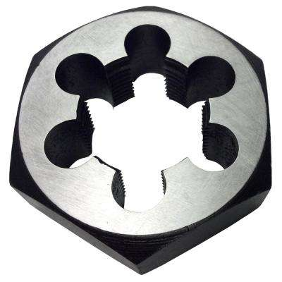 1/2 in.-28 Carbon Steel Hex Re-Threading Die