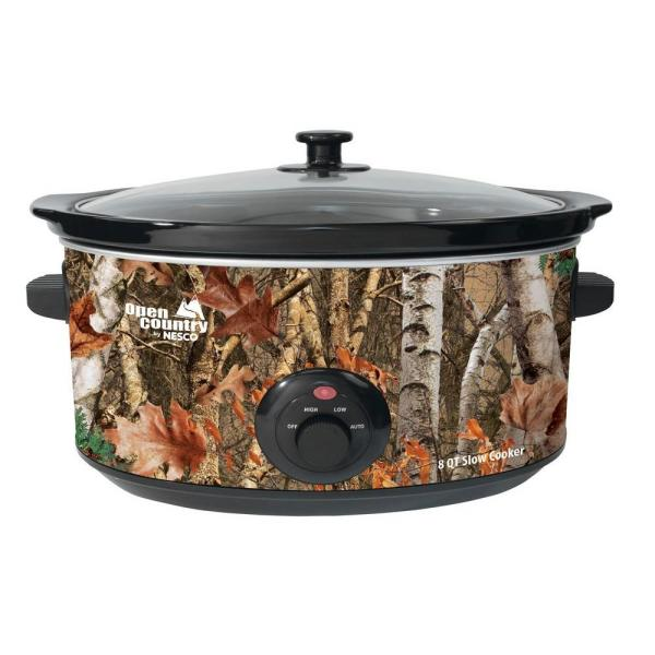 Nesco Open Country 8 Qt Slow Cooker
