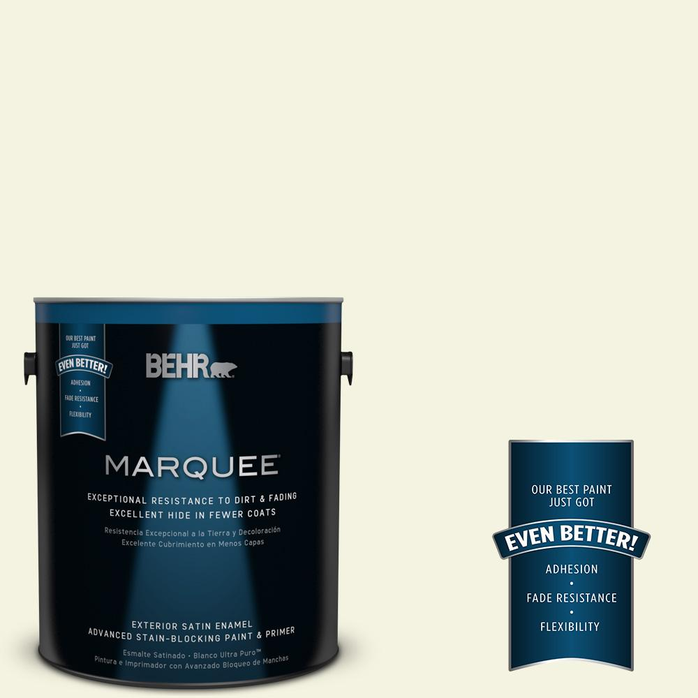 1-gal. #M340-1 Cauliflower Satin Enamel Exterior Paint