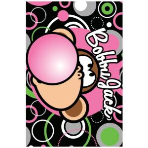 LA Rug Bobby Jack Bubble Gum Multi Colored 19 inch x 29 inch Accent Rug by LA Rug