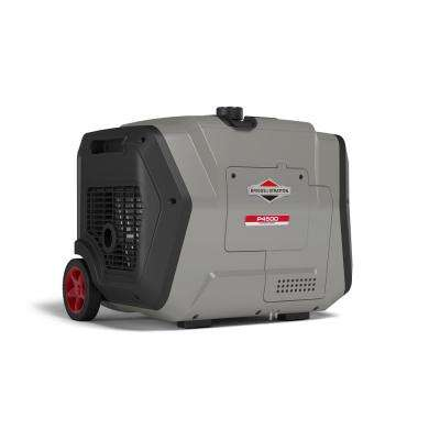 PowerSmart Series 4500-Watt Gasoline Powered Electric Start Inverter Generator with Briggs and Stratton OHV Engine