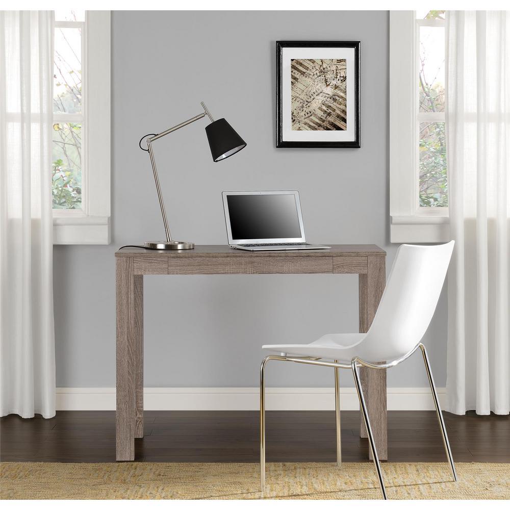 Altra Furniture Delilah Sonoma Oak Desk with Storage by Altra Furniture