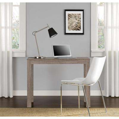 Delilah Sonoma Oak Desk with Storage