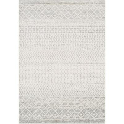 Laurine Gray 6 ft. 7 in. x 9 ft. Area Rug