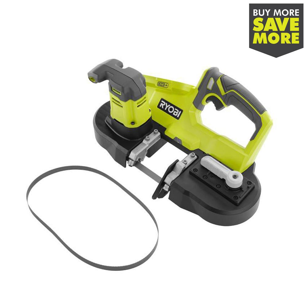 RYOBI 18-Volt ONE+ Cordless 2.5 in. Portable Band Saw (Tool Only)