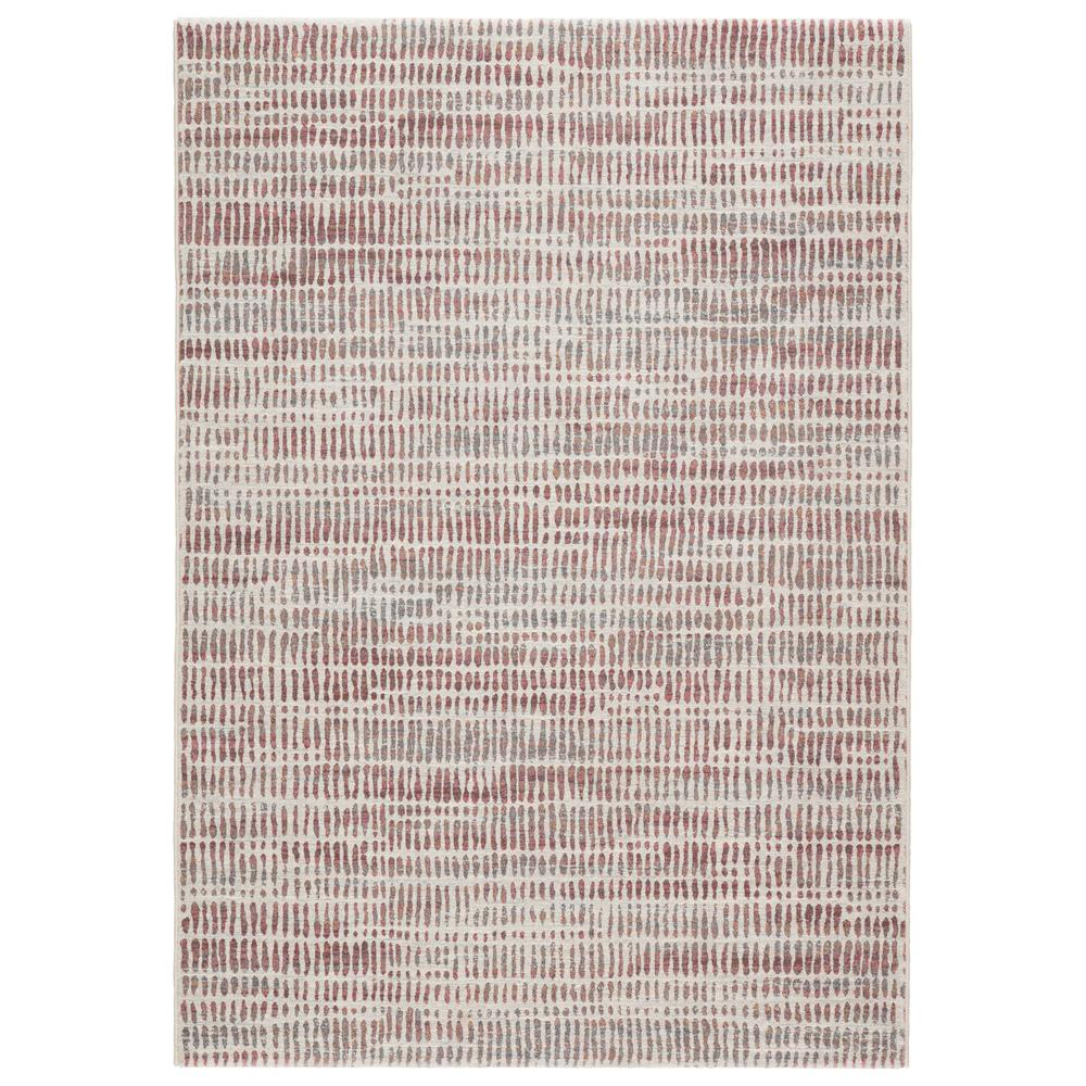 Mandala Gray Pink 5 Ft 3 In X 7 Ft 6 In Contemporary Rectangle Area Rug Brg145576 The Home Depot